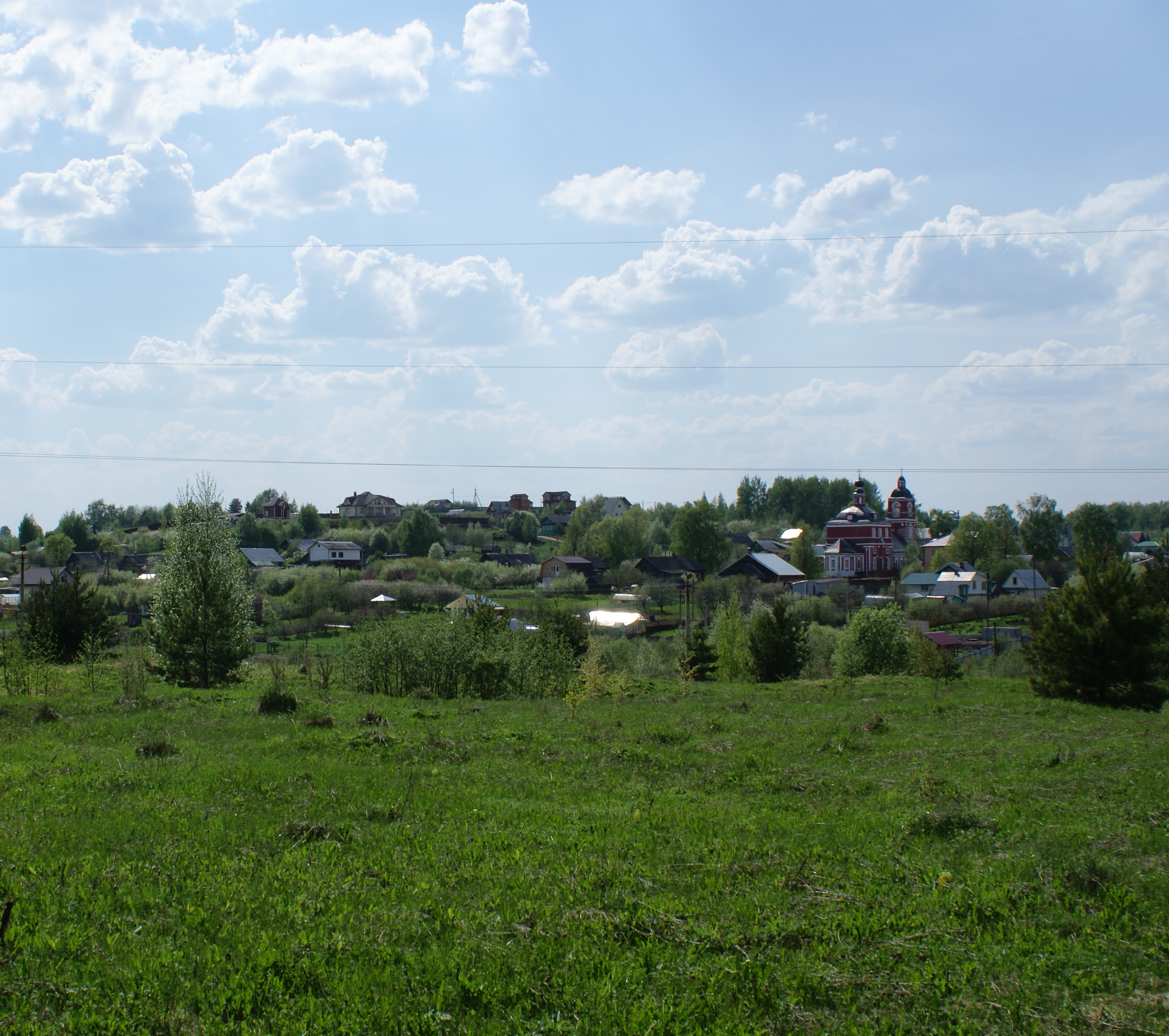 Село Веськово, 2013 год.